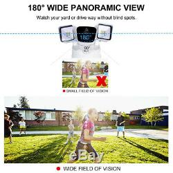 1080P IP55 Floodlight Camera Motion-Activated HD Security Cam APP Remote Control