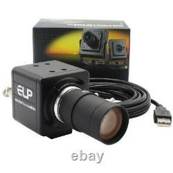 1080P MJPEG 60fps/120fps/260fps USB Webcam Kamera mit Manuelle Vario Objektiv