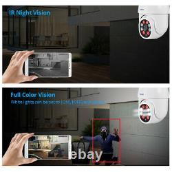 1080P Wireless IP Security Camera Home CCTV System Network WiFi PTZ Outdoor Cam
