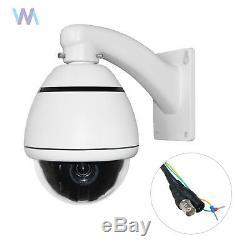 1200TVL PTZ Security ZOOM Camera 10X Outdoor Speed Dome CCTV Security Cam