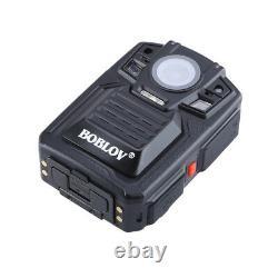 1296P 64GB Portable Body Worn Police Camera Security Pocket Cam Night Vision