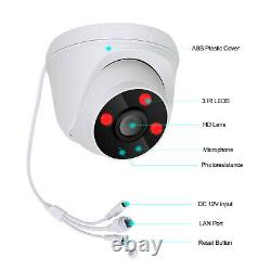 2Way Audio CCTV Wireless Security Camera System Outdoor Home 8CH 1080P With 1TB