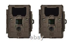 2 New Bushnell 14MP Trophy Cam HD Bandit Scouting Trail Security Camera (2 Pack)