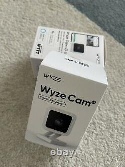 2 PACK WYZE CAM V3 Indoor Outdoor WiFi Camera Color Night Vision NEW IN BOX
