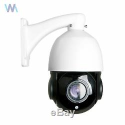30X ZOOM 1080P HD In/ Outdoor 360° PTZ IP Speed Dome Camera 2.0MP Waterproof Cam