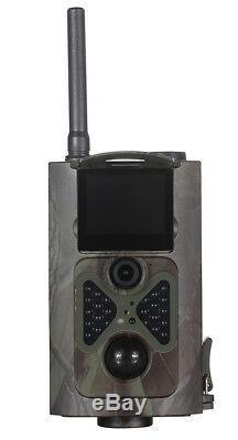 3G Camera Wireless Security Trail GSM MMS GPRS 1080P HD Alarm Cam