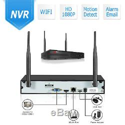 ANRAN 1080P Wireless Security Wifi Camera System Outdoor 8CH CCTV NVR 1TB HDD US