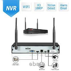 ANRAN Home Wireless Security Camera System 1080P Outdoor 2TB Hard Drive CCTV NVR