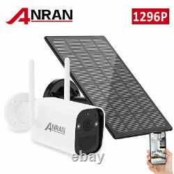 ANRAN Security Camera System Battery Solar Battery Powered WireFree Home Outdoor