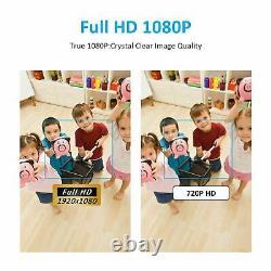 ANRAN Wireless Security WIFI Camera System 1080P 8CH 1TB Hard Drive CCTV HD 2MP