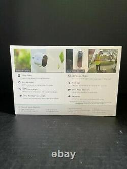 Arlo Essential Security Bundle 2 Cams + 1 Wired Video Doorbell VMK2260VV-NAS NEW