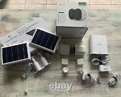 Arlo Ultra 2 Camera Indoor/Outdoor Wire Free 4K Security Cams With Solar Panels