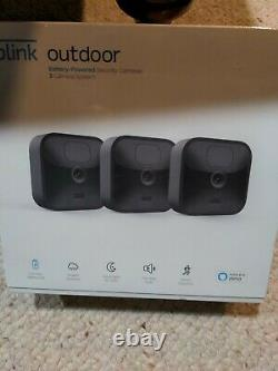 BRAND NEW Blink Outdoor 3 Cam Security Camera System, 3 Camera (Newest 2020)