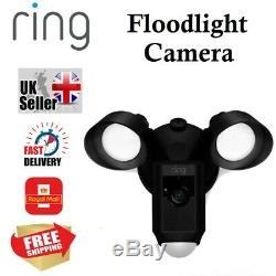 Brand New Factory Sealed Ring Floodlight Cam Outdoor Security Camera in Black