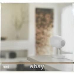 Brand New Nest Cam IQ Indoor Full HD Wi-Fi Home Security Camera 2-Pack White