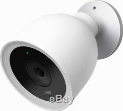 Brand New Nest Cam IQ Outdoor 1080P Wireless WiFi Security Camera 2-Pack White