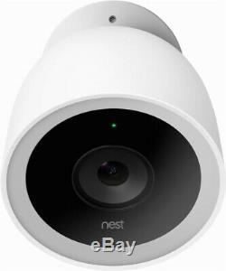 Brand New Nest Cam IQ Outdoor Security Camera White