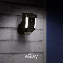 Brand New Ring Spotlight Cam Battery 1080p Outdoor Night Vision Wi-Fi Camera