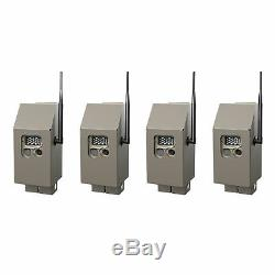 Cuddeback CuddeSafe Trail Camera Security Boxes for J Series Game Cams (4-Pack)