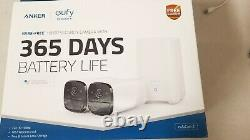 Eufy Security Cam 2 Wireless Home Security Camera System 365-Day Battery life