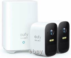 Eufy Security eufyCam 2C 2-Cam Kit Wireless Home Security System 1080p HD IP67