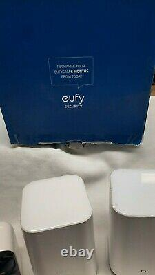 Eufy Security, eufyCam 2C 4-Cam Kit, Wireless Home Security System w=2 Bases