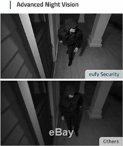 Eufy Security eufyCam 2 Wireless Home Security Camera System 2-Cam Kit 1080P
