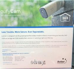Eufy eufyCam Add-On Security Camera Indoor/Outdoor 1080p Wire-Free NEW T8111 Cam