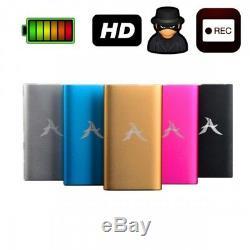 FULL HD PowerBank VERSTECKTE KAMERA MINI KLEINE SPYCAM TON VIDEO ÜBERWACHUNG A61