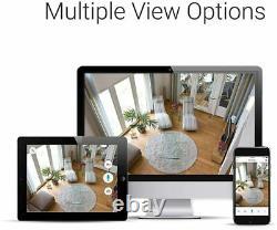 Funlux 8CH NVR sPoE Outdoor Indoor Security 8Cam 1TB Hard Drive Renewed