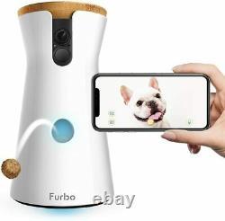Furbo Dog Camera Treat Tossing, HD WiFi Pet Camera and 2-Way Audio