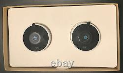 Google NC2400ES Nest Cam Outdoor Security Camera 2 Pack
