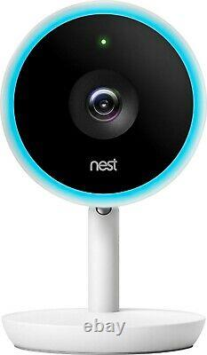 Google Nest Cam IQ Indoor HD Wi-Fi Home Security Camera NC3100US NEWithSEALED