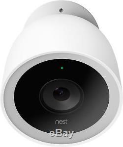 Google Nest Cam IQ Outdoor Security Camera (2-Pack) White
