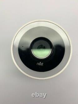 Google Nest Cam IQ Outdoor Security Camera White Complete NC4100US