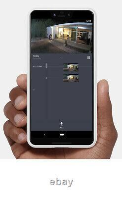 Google Nest Cam IQ Outdoor Wireless Camera White