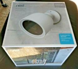 Google Nest Cam IQ Outdoor Wireless Camera White (NC4101US) New and Unopened