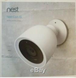 Google Nest Cam IQ Outdoor Wireless Security Camera White (NC4100US)