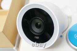 Google Nest Cam IQ Outdoor security camera NC4100US White