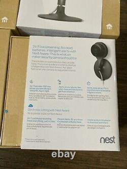 Google Nest Cam Indoor Security Camera Google Home New SEALED in box