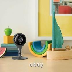Google Nest Cam Indoor Security Camera with 2-Pack WiFi Smart Plug