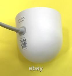 Google Nest Cam NC2100ES Outdoor Security Camera Model A0033 White #P9073