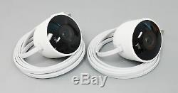 Google Nest Cam NC2400ES Outdoor Security Camera 2-Pack