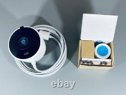 Google Nest Cam Outdoor 1080p Security Camera (NC2100ES) White