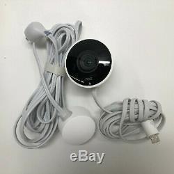 Google Nest Cam Outdoor 1080p Security Camera White