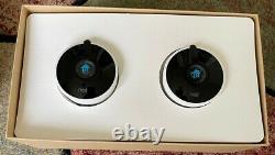 Google Nest Cam Outdoor 2 Pack Security Camera A0033 -CF0097