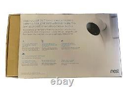 Google Nest Cam Outdoor Security Camera 2 Pack Used