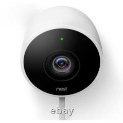 Google Nest Cam Outdoor Security Camera Standard Wired Surveillance System 2Pack