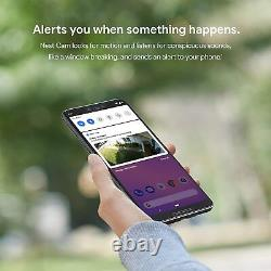 Google Nest Cam Outdoor Security Camera Wi-Fi Wired 1080P HD with Night Vision