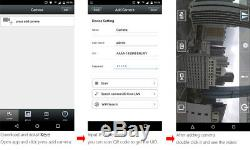 HD 1080P 960P IP Camera Bullet Security Cam Wireless GSM 3G 4G SIM Card Outdoor